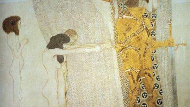 the beethoven frieze the longing for happiness left wall.jpgLarge سارة عابدين - رسائل إلى الله - شامة في ذراعي.. قطة تحت السيارة