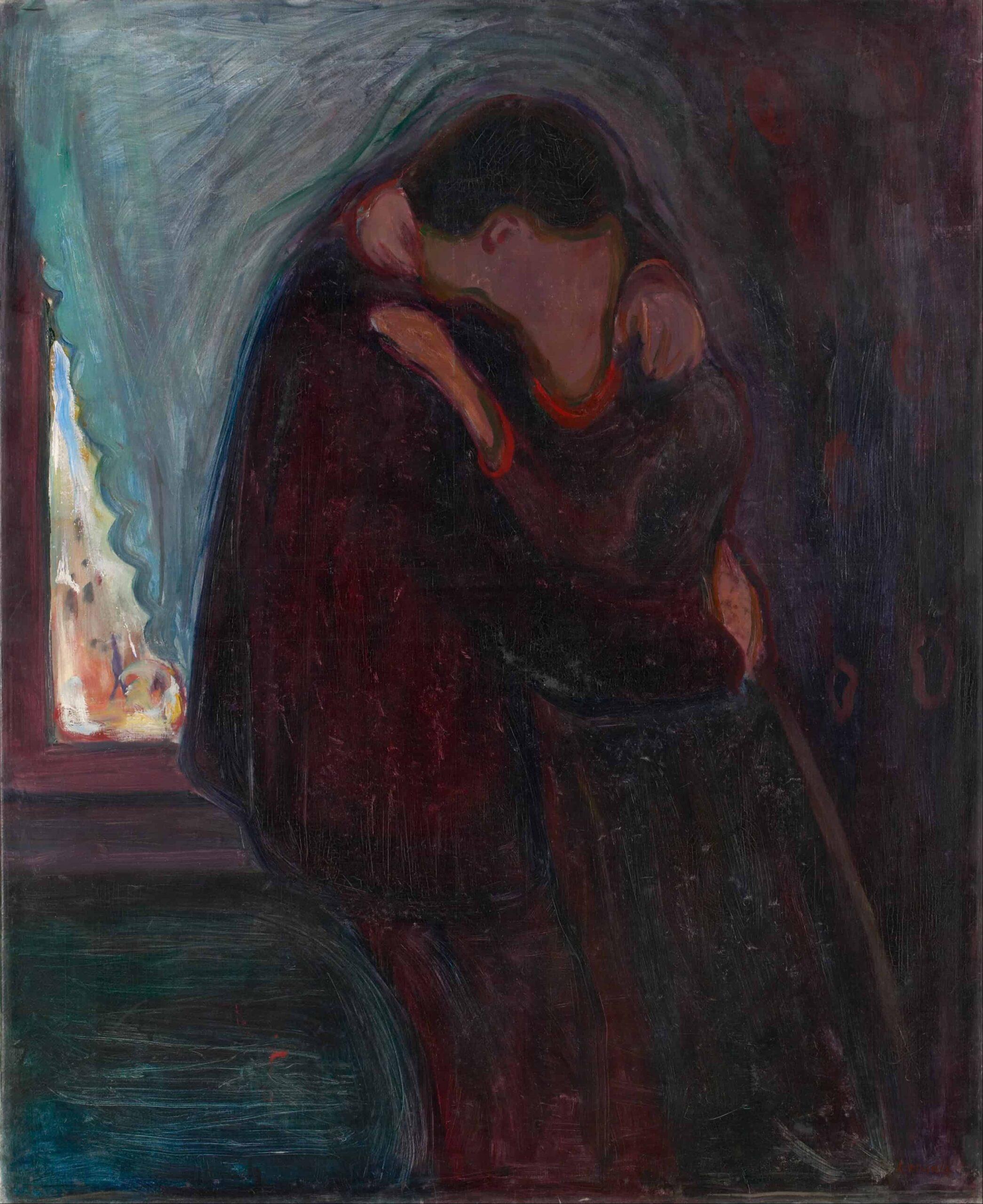 Edvard Munch The Kiss scaled رودي فرانسيسكو - قصيدة حب