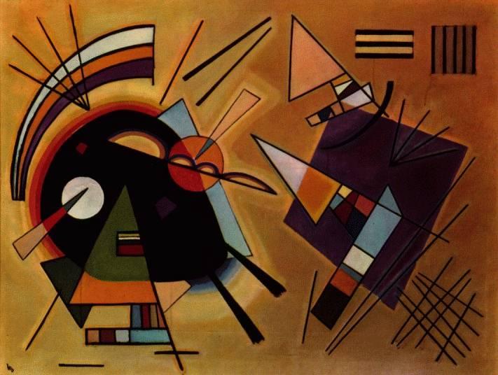 black and violet 1923 إستير رامون - هندسة - ترجمة أحمد يماني