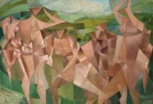 f3027315 seven figures in a landscape 1950 بيير ريفيردي - الشعراء - ترجمة فاطمة بوصوفة