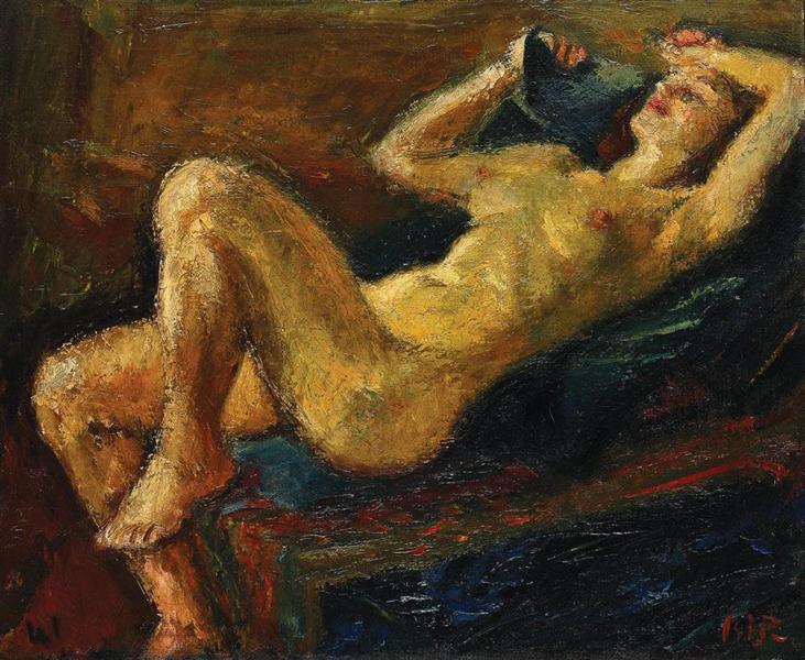 Laid Back Nude Iosif Iser