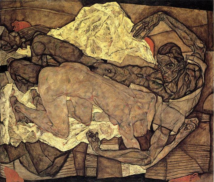 lovers man and woman 1914.jpgLarge برنار نويل - الاسم نفسه - ترجمة محمد بنيس