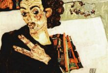 self portrait with black vase and spread fingers 1911.jpgLarge جان كلود بيروت - لن تعرف أبدا من أكون - ترجمة منجية منتصر