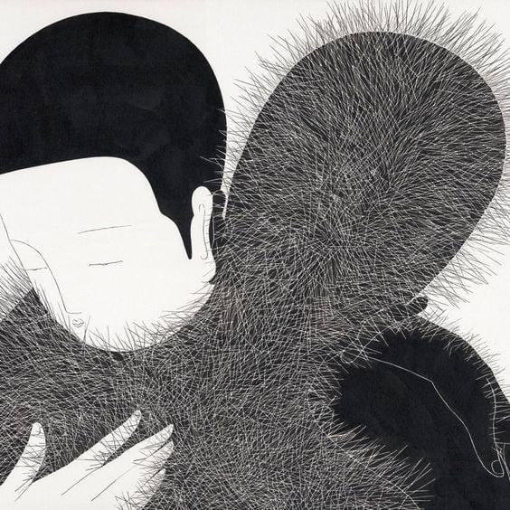 صورة مها دعاس – التماهى مع الشعر