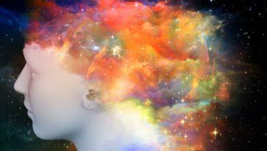 abstract image of head and imagination أعمق من المعنى، أشفُّ من البلور - بلقيس الملحم