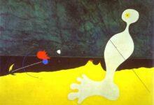 Person Throwing a Stone at a Bird Joan Miro ذائقة الحروب - مؤمن سمير