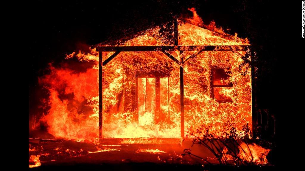 1edbc45cf7b9a647da55127f9cd3136f حرائق الغابات فى كاليفورنيا تلتهم الأخضر واليابس!