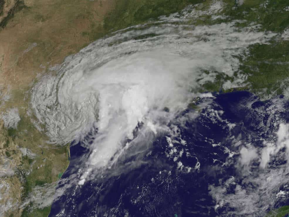 GOES-East image of Harvey