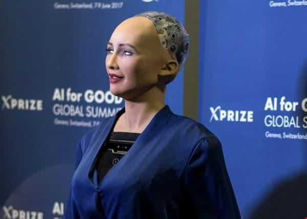 """9fcb8702aea0fd2a9f98a701e5fc9f88 """"صوفيا"""" أول روبوت في العالم تُمنح له جنسية وجواز سفر!"""