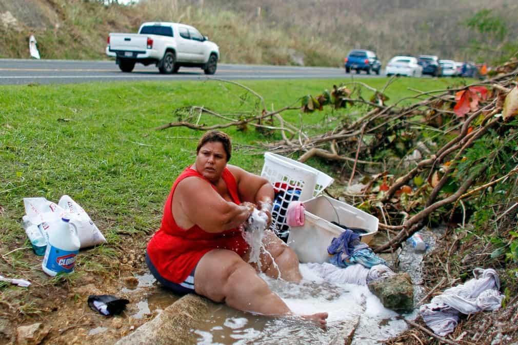aa7ac5d9254d5469538e97d81dd352ea بورتوريكو بعد إعصار ماريا   بالصور