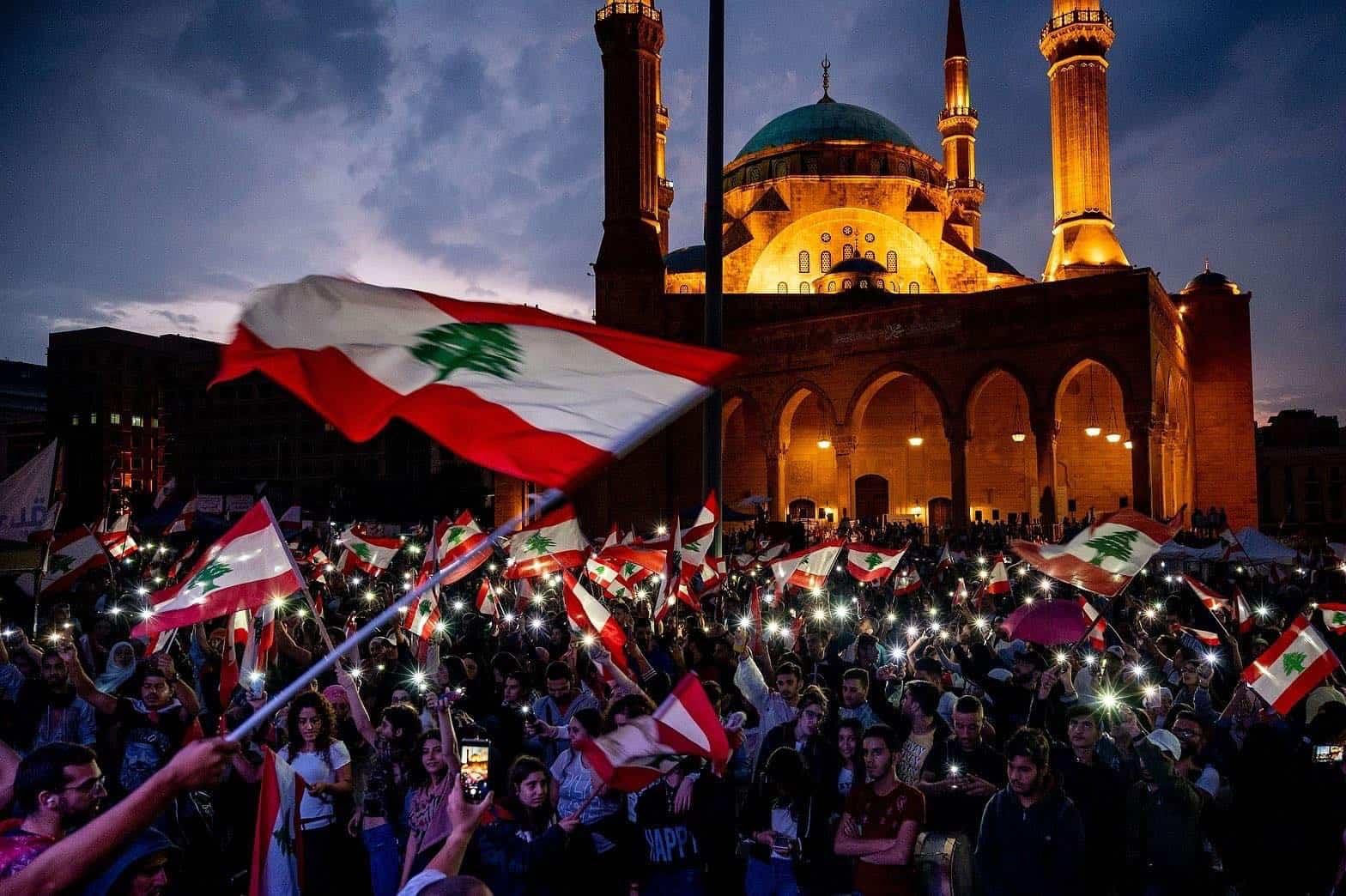 صورة ثورة تشرين لإسقاط ألف صنم… كلن يعني كلن – مشاعل بشير