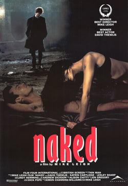 "Naked poster نظرات فى فيلم "" Naked "" وفى شخصية جونى الاناركي"