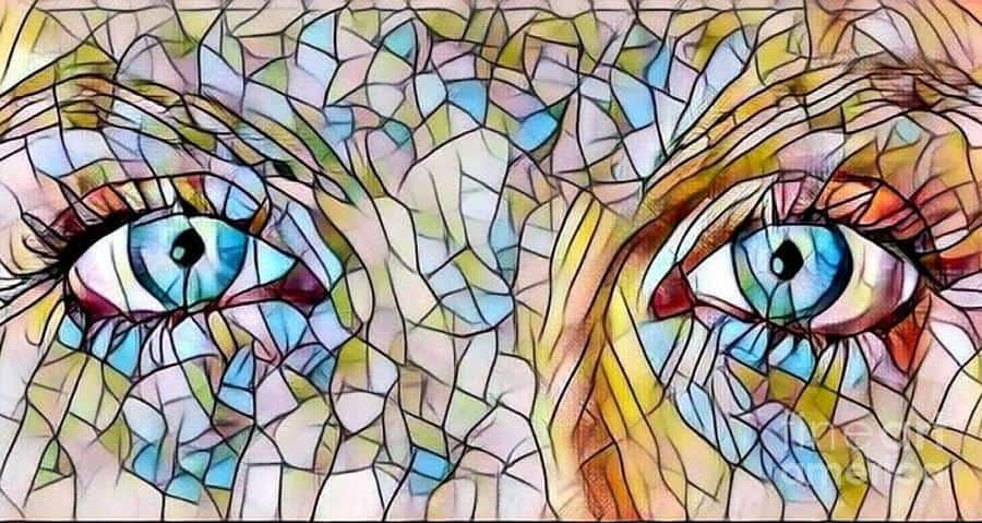 من زجاج عينان من زجاج - عبد الله الباحوث