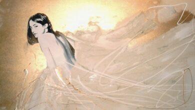 Michael Bergt realism painter17 الأوهام - إيمان السباعي