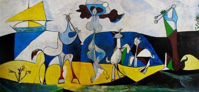 la joie de vivre by pablo picasso 1 مختارات من بول إيلوار