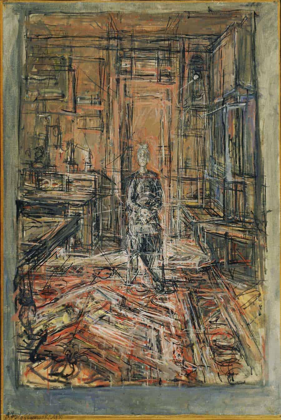 Art Work by Alberto Giacometti